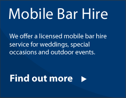 mobile bar hire East Devon